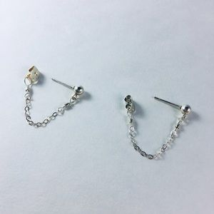 Katy Ginger Designs Jewelry - KATY GINGER DESIGNS Chain Hoops
